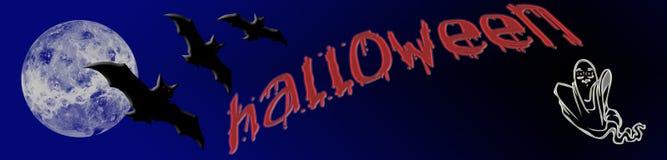 знамя halloween иллюстрация штока