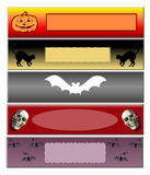 знамя hallowen Стоковое фото RF