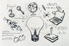 Знание и концепция науки стоковое фото rf