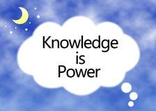 Знание концепция силы Стоковые Фото