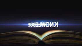 Знание приходит от учебников Где делает знание придите от бесплатная иллюстрация