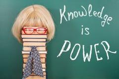 Знание сила Стоковая Фотография