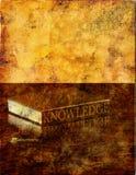 знание grunge Стоковое Изображение