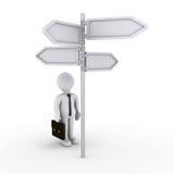 знать правый путь успеха Стоковые Изображения RF