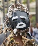 Знахарь замаскированный на параде Стоковое Фото