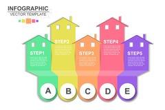 Значки вектора и маркетинга дизайна infographics срока могут быть u иллюстрация вектора