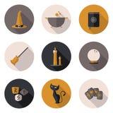 Значки волшебные в формате Стоковые Изображения