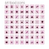 Значки еды Стоковые Фотографии RF