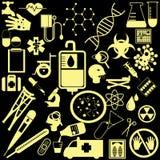 Значки здоровья Стоковая Фотография