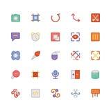 Значки 12 дизайна & вектора развития Стоковые Фото