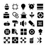Значки 2 дизайна & вектора развития Стоковое Изображение RF