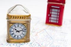 Значки Лондона известные туристские Стоковые Фотографии RF