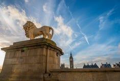 Значки Лондона Стоковые Изображения