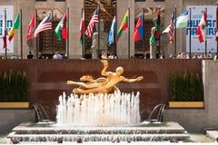 Значки Манхаттана, Нью-Йорк, США Стоковые Фото