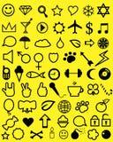 Значки молодости Стоковые Изображения RF