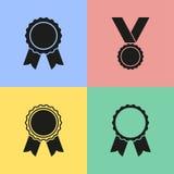 Значки награды Стоковое Изображение