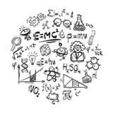 Значки науки Стоковые Фото