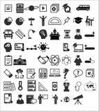 Значки образования Стоковое Фото