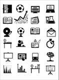 Значки образования Стоковые Фото