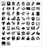 Значки образования Стоковые Фотографии RF