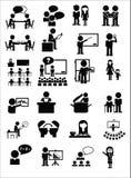 Значки образования Стоковые Изображения RF