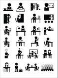 Значки образования Стоковые Изображения