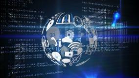 Значки применения и коды программы сток-видео