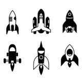 Значки Ракеты бесплатная иллюстрация