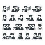 Значки семьи Бесплатная Иллюстрация