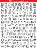 Значки сеты Стоковые Фотографии RF