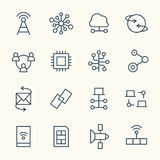 Значки соединения бесплатная иллюстрация