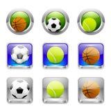 Значки спорта. Вектор Стоковое фото RF