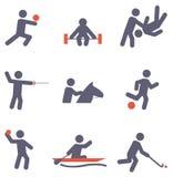 Значки спорта Стоковая Фотография RF