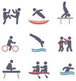 Значки спорта Стоковые Фотографии RF