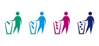 Значки экологичности Стоковая Фотография RF