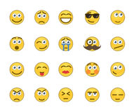 Значки эмоции иллюстрация штока