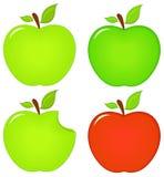 Значки Яблока Стоковое Изображение RF