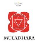 Значки Chakra изолированные вектором minimalistic Стоковые Фото
