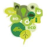 Значки Eco Стоковая Фотография RF