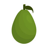 Значок авокадоа vegetable здоровый бесплатная иллюстрация