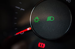 Значок автомобиля светлый Стоковое фото RF