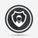Значок агентства по безопасности Символ предохранения от экрана бесплатная иллюстрация