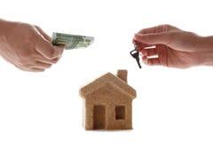 Значок аренды жилья и продажи стоковые фотографии rf