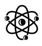 Значок атома Стоковые Фотографии RF
