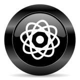 Значок атома Стоковая Фотография