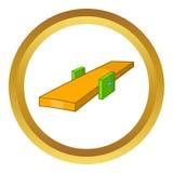 Значок балансера качания иллюстрация вектора