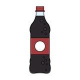 Значок безалкогольного напитка Стоковое фото RF