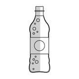Значок безалкогольного напитка Стоковое Изображение RF
