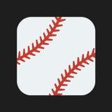 Значок бейсбола Стоковое фото RF