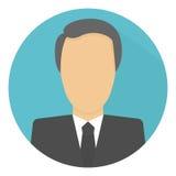 Значок бизнесмена иллюстрация вектора